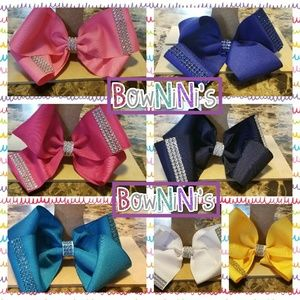 "7"" Big Twisted Hairbows Bundle"